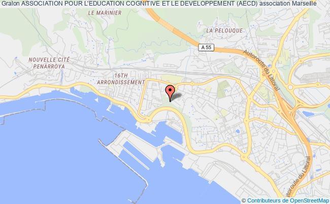 plan association Association Pour L'education Cognitive Et Le Developpement (aecd) Marseille
