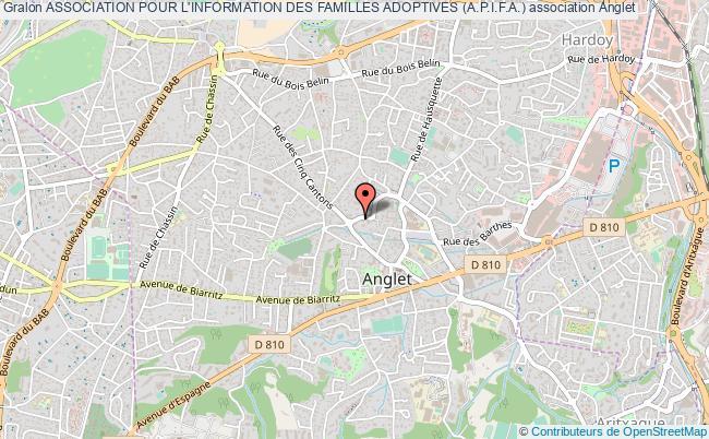 plan association Association Pour L'information Des Familles Adoptives (a.p.i.f.a.)