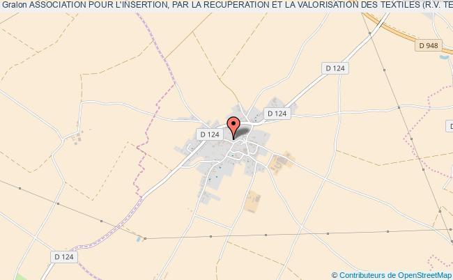plan association Association Pour L'insertion, Par La Recuperation Et La Valorisation Des Textiles (r.v. Textiles)