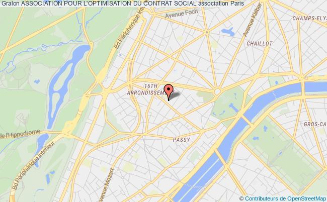 plan association Association Pour L'optimisation Du Contrat Social