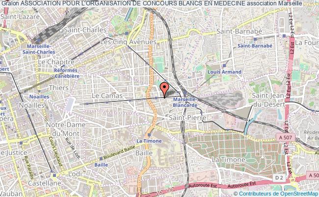 plan association Association Pour L'organisation De Concours Blancs En Medecine Marseille 5
