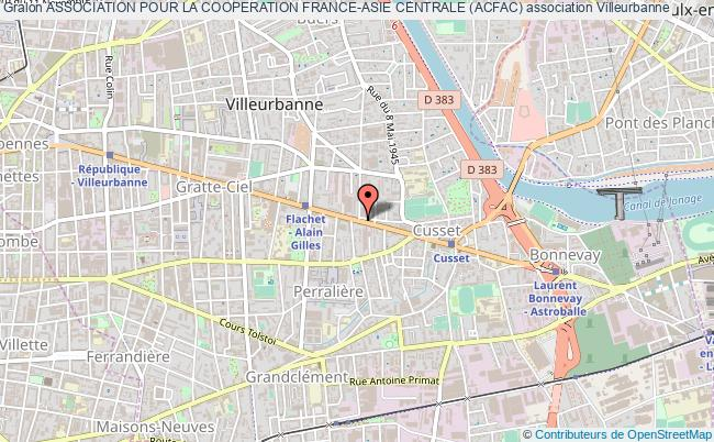 plan association Association Pour La Cooperation France-asie Centrale (acfac)