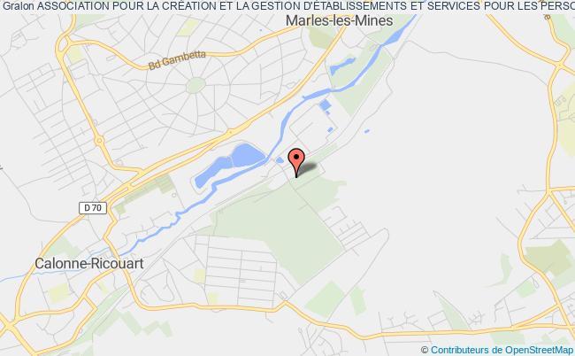 plan association Association Pour La CrÉation Et La Gestion D'Établissements Et Services Pour Les Personnes Sourdaveugles Nord De France (acgessa)
