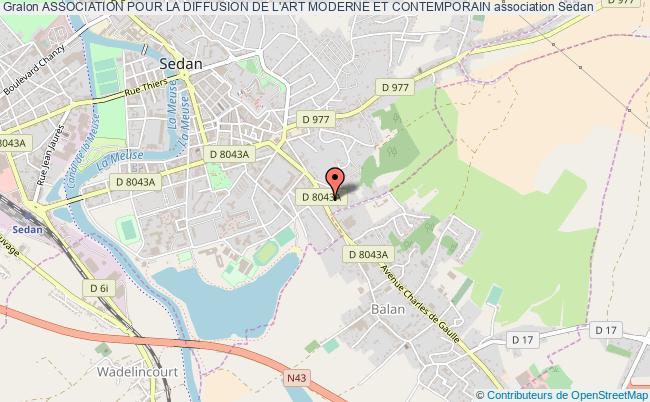 plan association Association Pour La Diffusion De L'art Moderne Et Contemporain