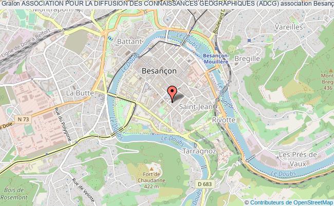 plan association Association Pour La Diffusion Des Connaissances Geographiques (adcg)