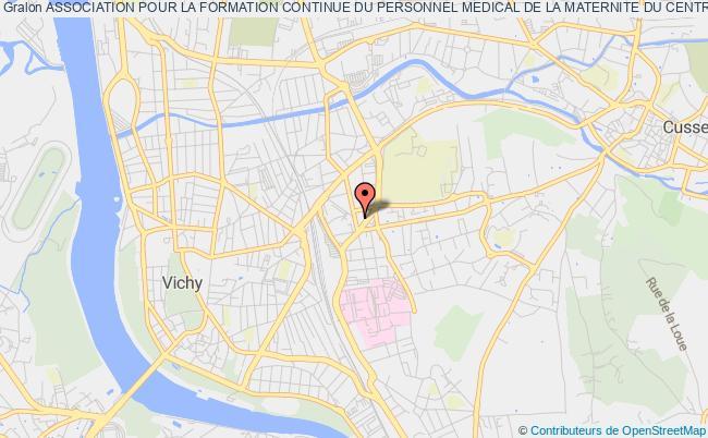 plan association Association Pour La Formation Continue Du Personnel Medical De La Maternite Du Centre Hospitalier De Vichy
