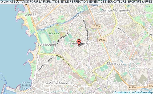 plan association Association Pour La Formation Et Le Perfectionnement Des Educateurs Sportifs (afpes) Marseille