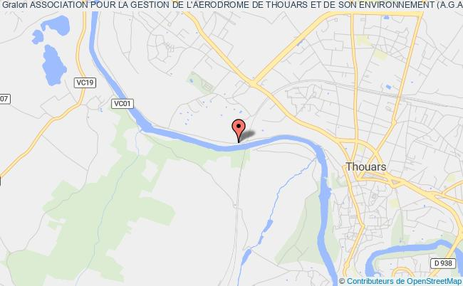 plan association Association Pour La Gestion De L'aerodrome De Thouars Et De Son Environnement (a.g.a.t.h.e.)