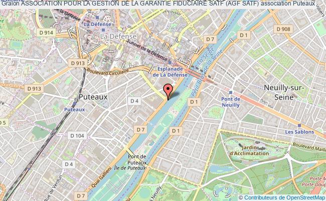 plan association Association Pour La Gestion De La Garantie Fiduciaire Satf (agf Satf)