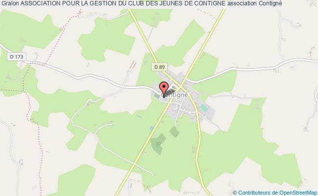plan association Association Pour La Gestion Du Club Des Jeunes De Contigne Contigné