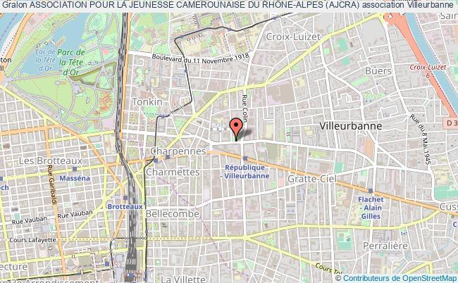 plan association Association Pour La Jeunesse Camerounaise Du RhÔne-alpes (ajcra)