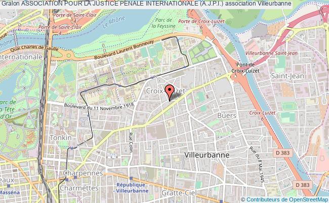 plan association Association Pour La Justice Penale Internationale (a.j.p.i.)
