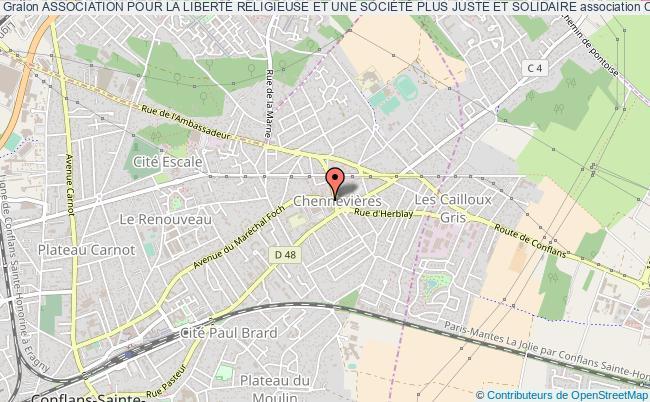 plan association Association Pour La LibertÉ Religieuse Et Une SociÉtÉ Plus Juste Et Solidaire Conflans-Sainte-Honorine