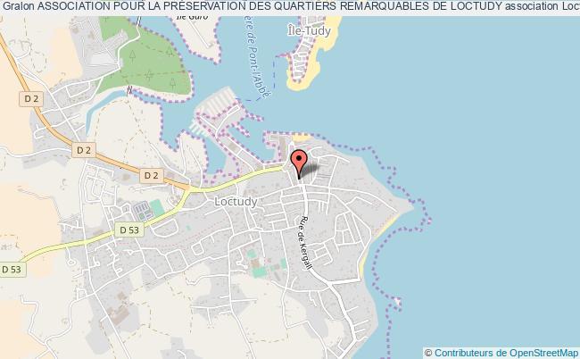 plan association Association Pour La PrÉservation Des Quartiers Remarquables De Loctudy