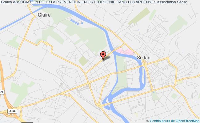 plan association Association Pour La Prevention En Orthophonie Dans Les Ardennes