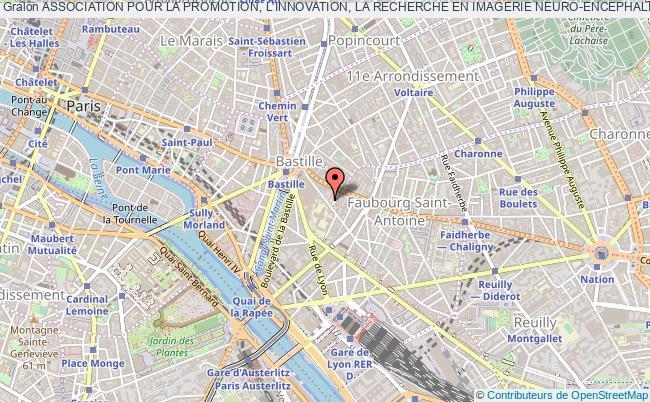plan association Association Pour La Promotion, L'innovation, La Recherche En Imagerie Neuro-encephalique (apirine) Paris
