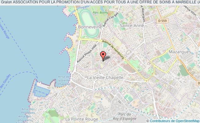 plan association Association Pour La Promotion D'un AccÈs Pour Tous À Une Offre De Soins À Marseille (apats Marseille)