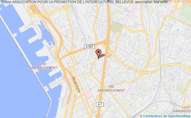 plan association Association Pour La Promotion De L'interculturel Bellevue Marseille