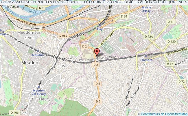 plan association Association Pour La Promotion De L'oto-rhino-laryngologie En Aeronautique (orl-aero)
