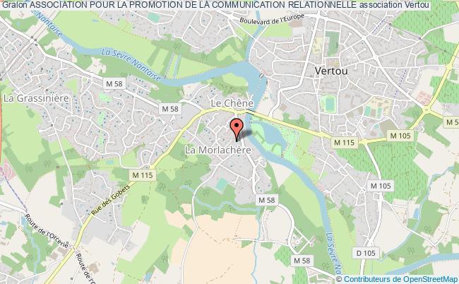 plan association Association Pour La Promotion De La Communication Relationnelle