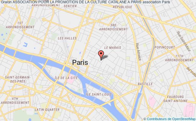 plan association Association Pour La Promotion De La Culture Catalane A Paris