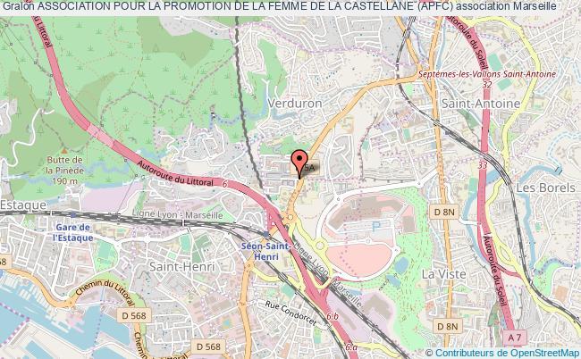 plan association Association Pour La Promotion De La Femme De La Castellane (apfc)