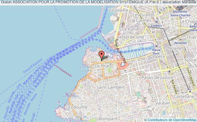 plan association Association Pour La Promotion De La Modelisation Systemique (a.p.m.s.) Marseille