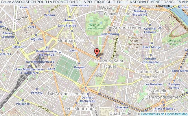 plan association Association Pour La Promotion De La Politique Culturelle Nationale MenÉe Dans Les AnnÉes 80 Et 90 Du XxÈme SiÈcle