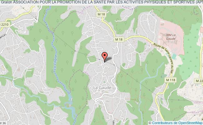 plan association Association Pour La Promotion De La Sante Par Les Activites Physiques Et Sportives (aps2)