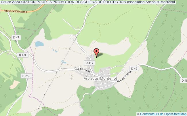 plan association Association Pour La Promotion Des Chiens De Protection