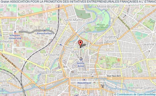 plan association Association Pour La Promotion Des Initiatives Entrepreneuriales FranÇaises A L' Étranger (apiefe) Rennes