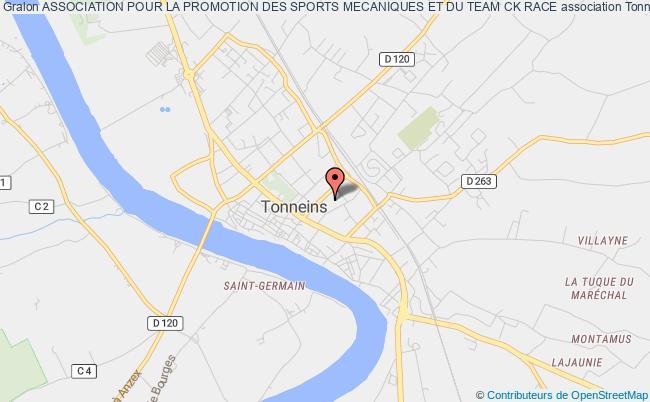 plan association Association Pour La Promotion Des Sports Mecaniques Et Du Team Ck Race