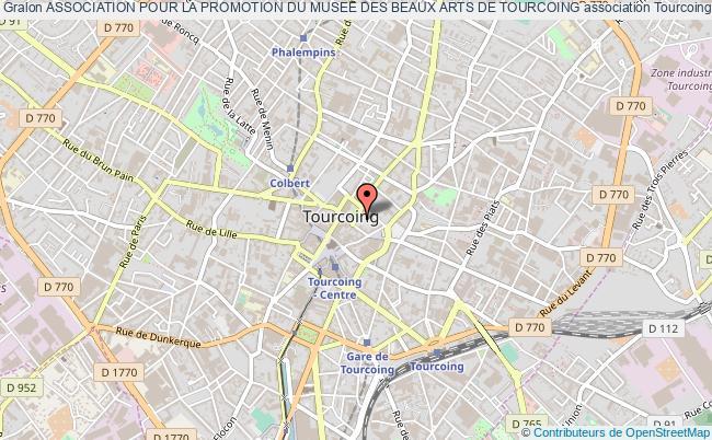 plan association Association Pour La Promotion Du Musee Des Beaux Arts De Tourcoing