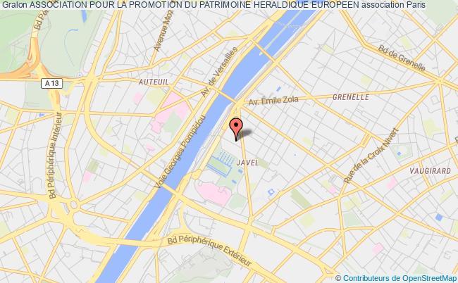 plan association Association Pour La Promotion Du Patrimoine Heraldique Europeen