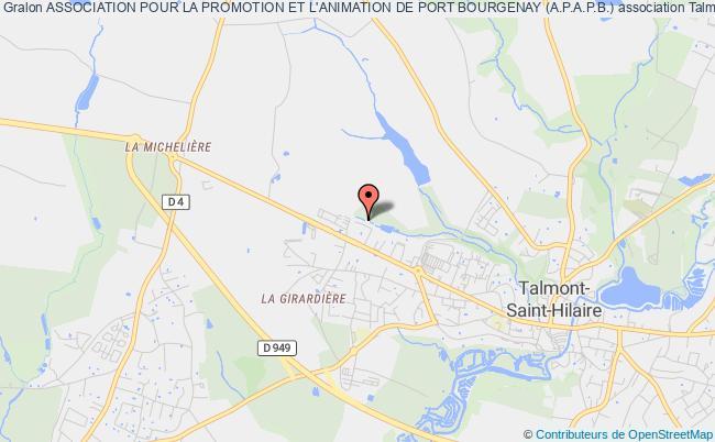 plan association Association Pour La Promotion Et L'animation De Port Bourgenay (a.p.a.p.b.)