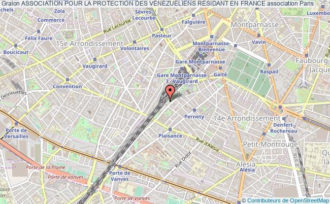 plan association Association Pour La Protection Des VÉnÉzuÉliens RÉsidant En France