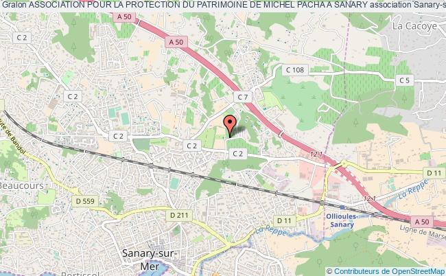 plan association Association Pour La Protection Du Patrimoine De Michel Pacha A Sanary