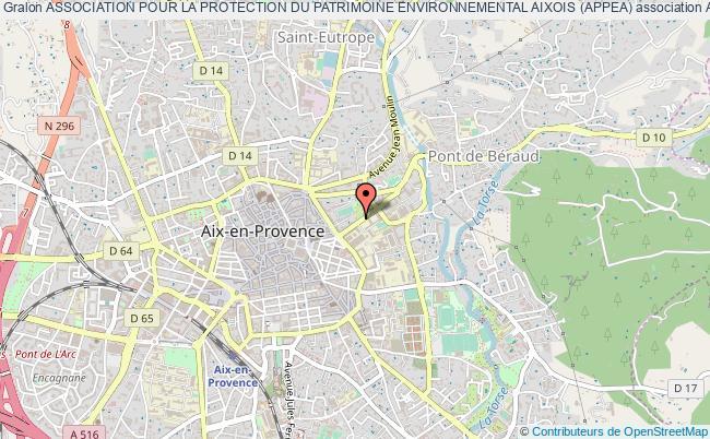 plan association Association Pour La Protection Du Patrimoine Environnemental Aixois (appea)