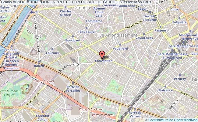 plan association Association Pour La Protection Du Site De Pardigon