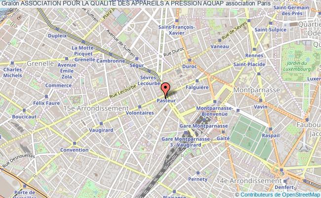 plan association Association Pour La Qualite Des Appareils A Pression Aquap Paris