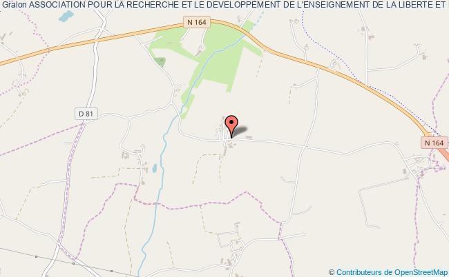 plan association Association Pour La Recherche Et Le Developpement De L'enseignement De La Liberte Et L'acrobation A Cheval - Praline Saint-Guen