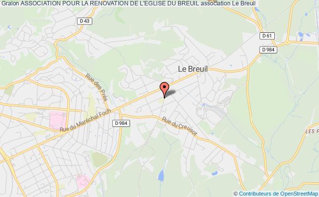plan association Association Pour La Renovation De L'eglise Du Breuil