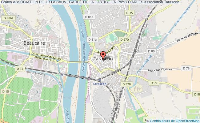 plan association Association Pour La Sauvegarde De La Justice En Pays D'arles