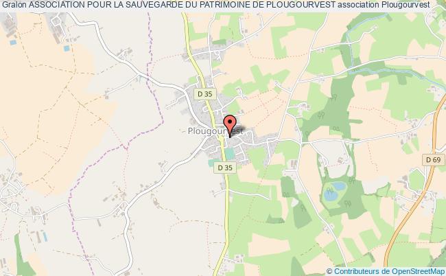 plan association Association Pour La Sauvegarde Du Patrimoine De Plougourvest Plougourvest