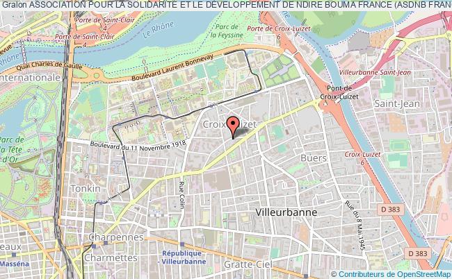 plan association Association Pour La SolidaritÉ Et Le DÉveloppement De Ndire Bouma France (asdnb France)