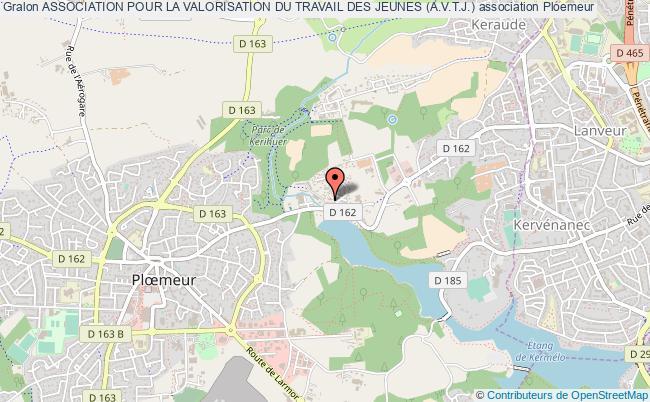 plan association Association Pour La Valorisation Du Travail Des Jeunes (a.v.t.j.)