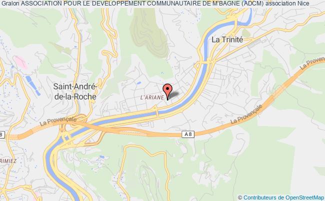 plan association Association Pour Le Developpement Communautaire De M'bagne (adcm)