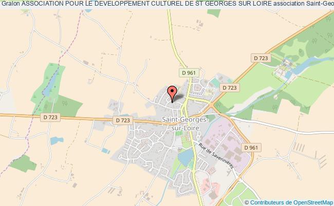 plan association Association Pour Le Developpement Culturel De St Georges Sur Loire