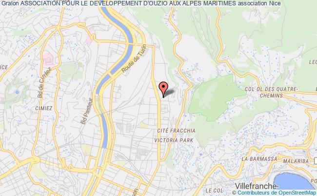 plan association Association Pour Le Developpement D'ouzio Aux Alpes Maritimes