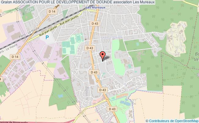 plan association Association Pour Le DÉveloppement De Dounde Les   Mureaux